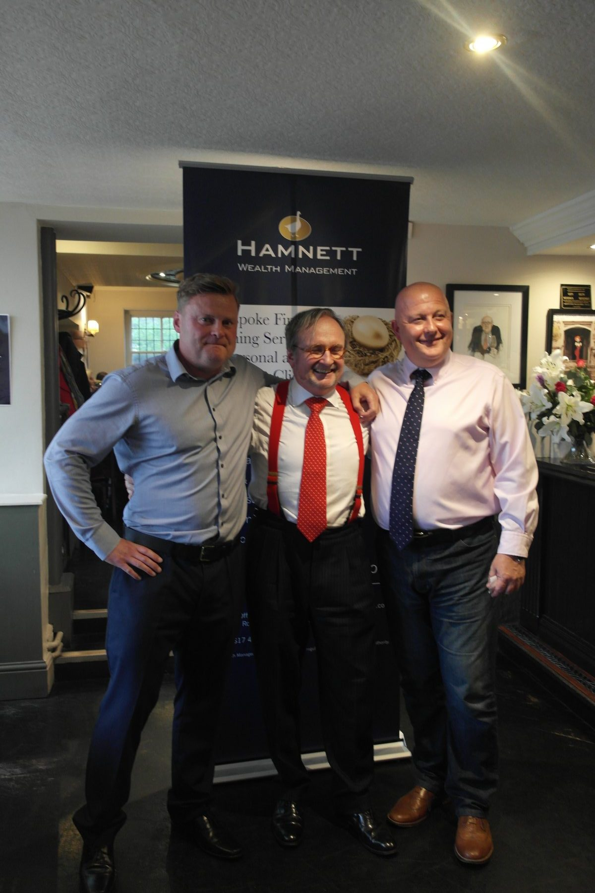 Hamnett Wealth Hosts Beer, Bubbles and Brexit Night with Justin Urquhart Stewart
